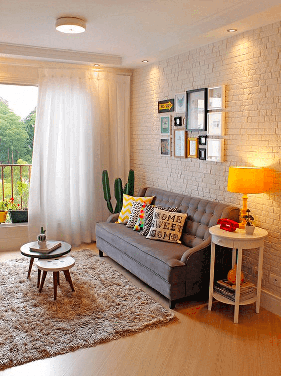Lindas casas pequenas decoradas para te inspirar!